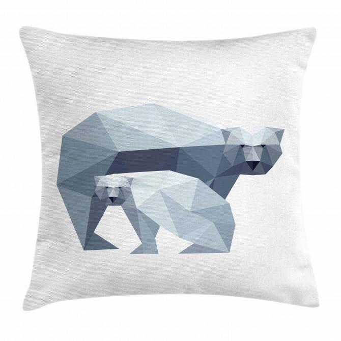 Nordic Animal Art Pillow Cover