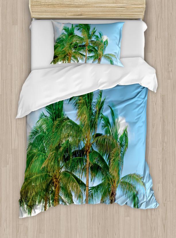 Exotic Idyllic Nature Duvet Cover Set