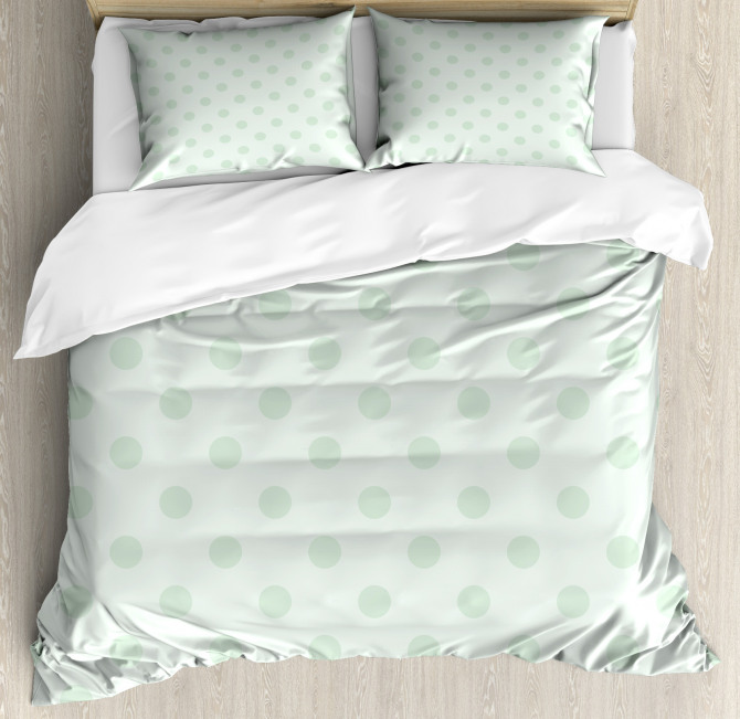 Polka Dots Classic Cute Duvet Cover Set