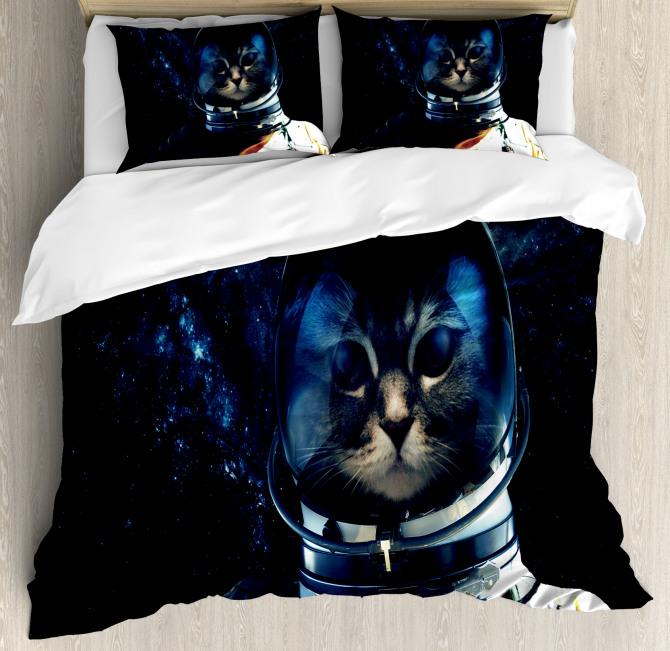 Extragalactic Orbit Duvet Cover Set