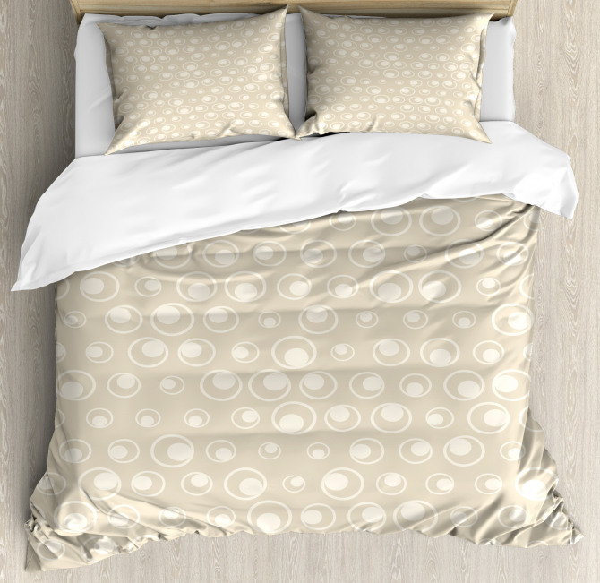 Water Inspired Bubble Forms Duvet Cover Set