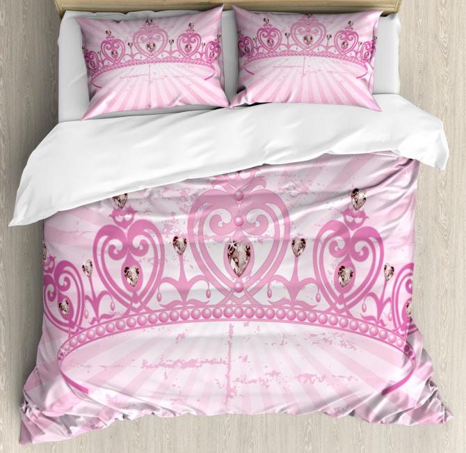 Pink Princess Duvet Cover Set