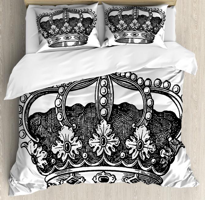 Antique Royal Monarch Duvet Cover Set