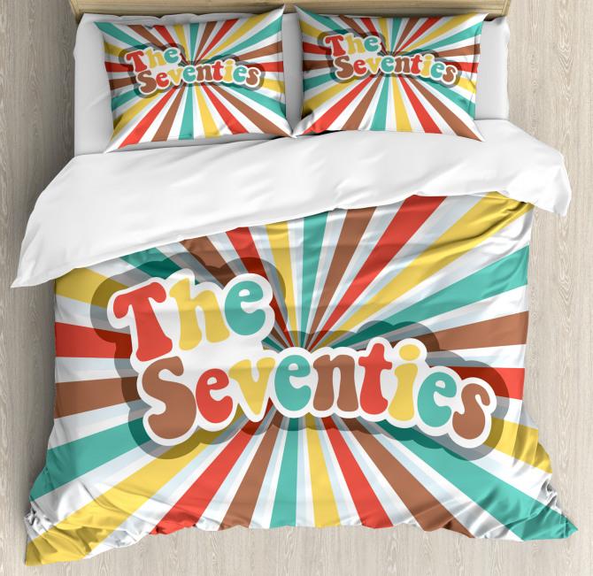 The Seventies Retro Duvet Cover Set