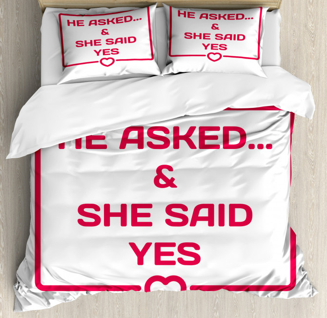 Email Like Quote Duvet Cover Set