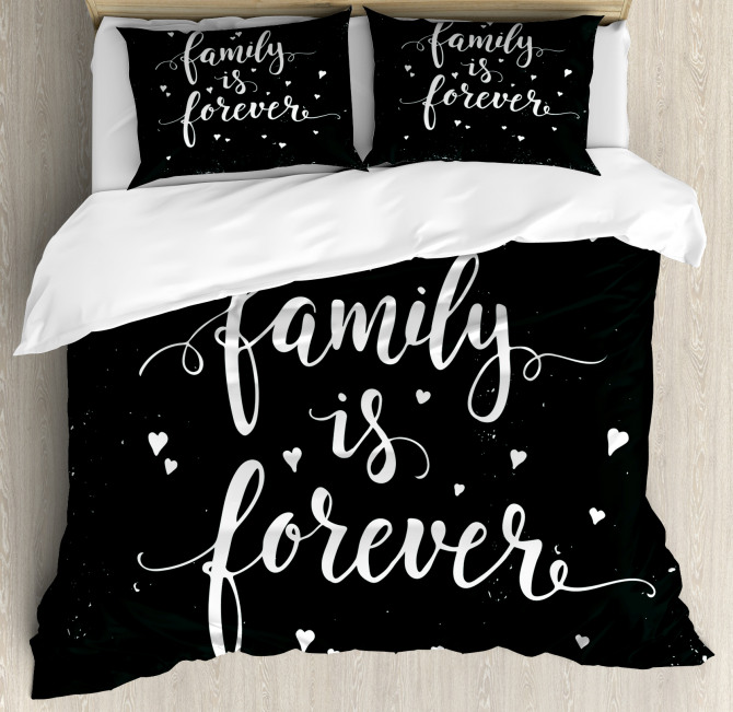 Family Forever Duvet Cover Set