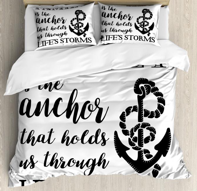 Family Anchor Duvet Cover Set