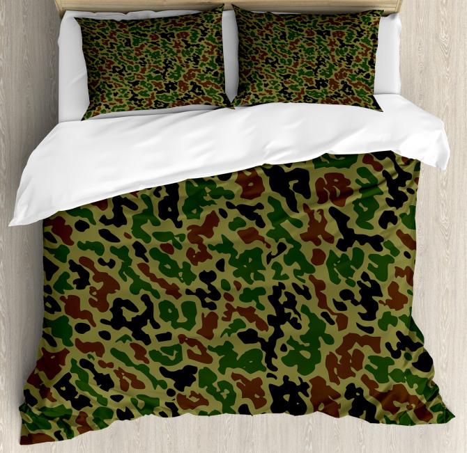 Summer Grungy Pattern Duvet Cover Set