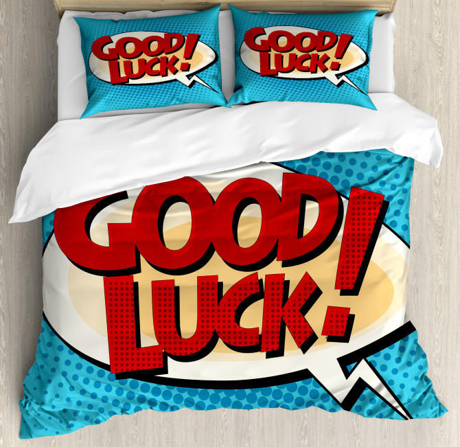 Comic Book Strip Duvet Cover Set