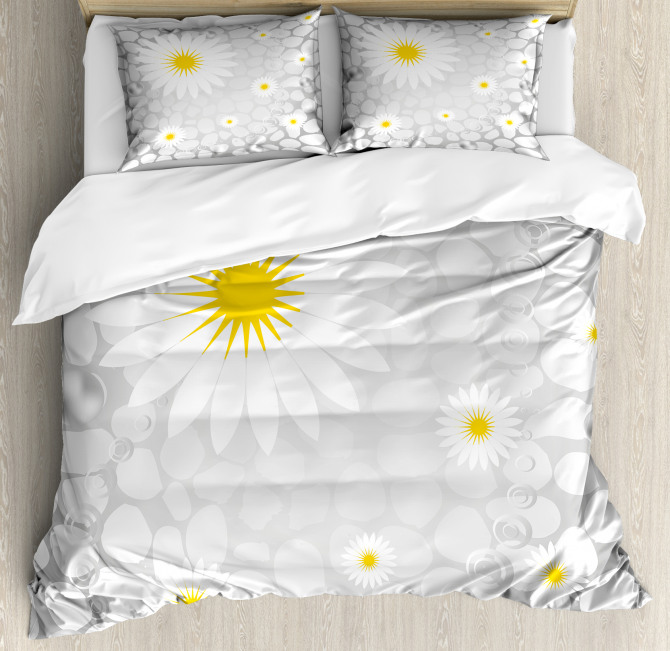Flowers Animal Dots Duvet Cover Set