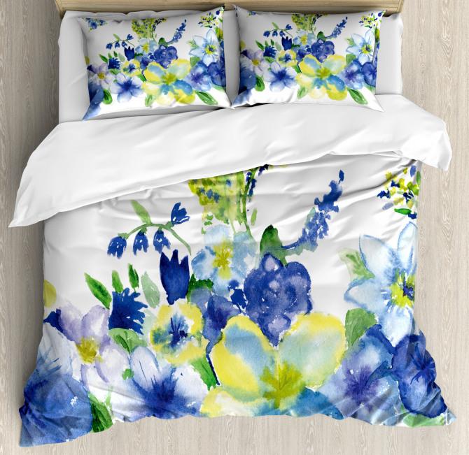 Spring Blooms Duvet Cover Set