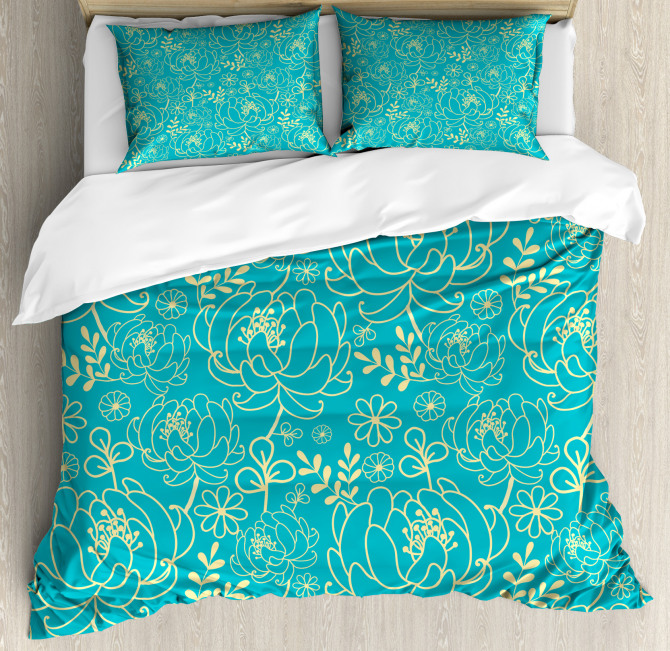 Twig and Leaves Duvet Cover Set