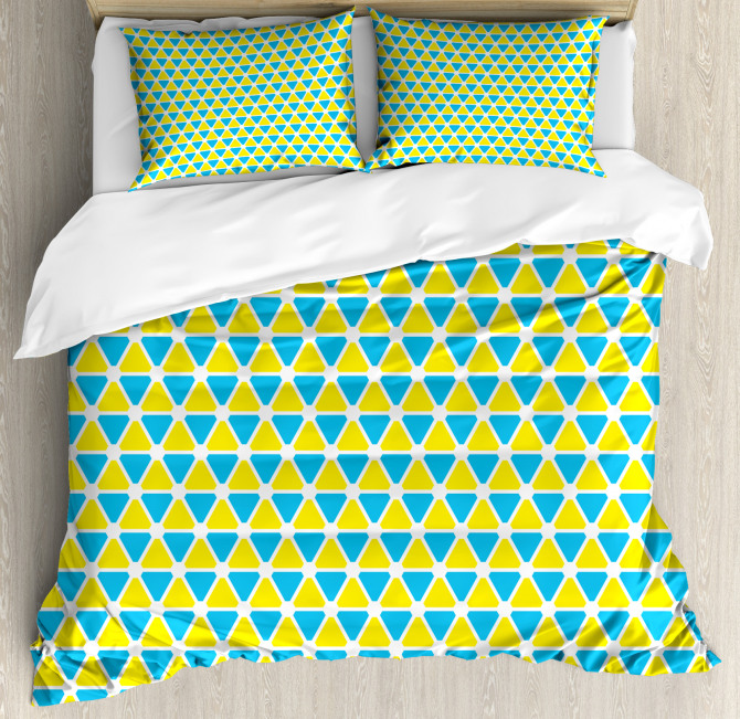 Triangle Forms Duvet Cover Set