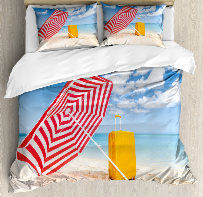 Windy Shore Duvet Cover Set