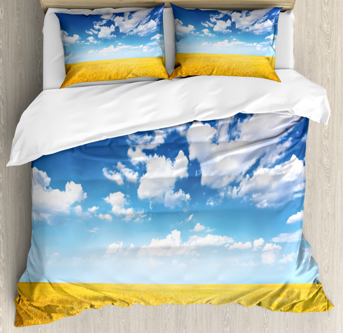 Wheat Field Summer Duvet Cover Set