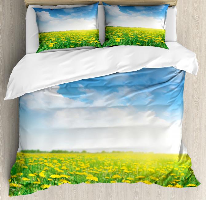 Field Grassland Duvet Cover Set