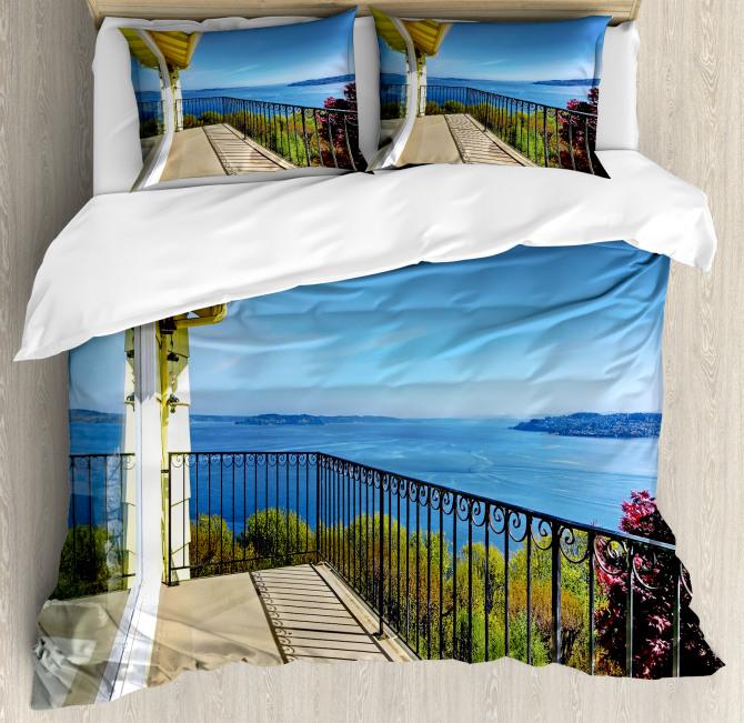Summer Sunny Day Ocean Duvet Cover Set