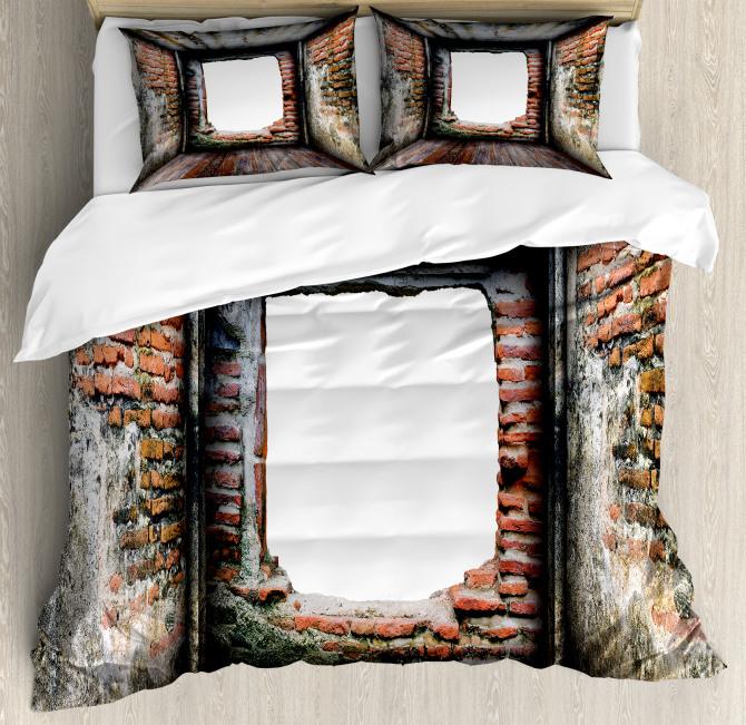 Abondoned Aged Interior Duvet Cover Set