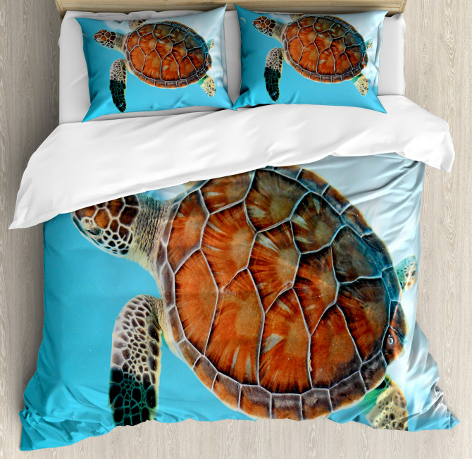Sea Animal Caribbean Duvet Cover Set