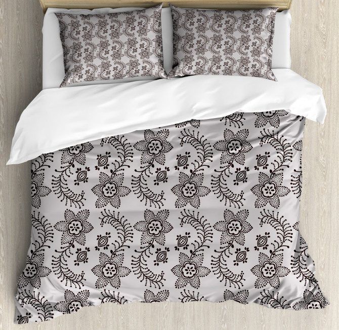 Authentic Russian Boho Duvet Cover Set