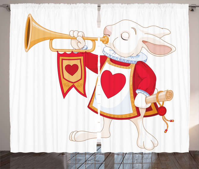 Bunny Fairytale Curtain