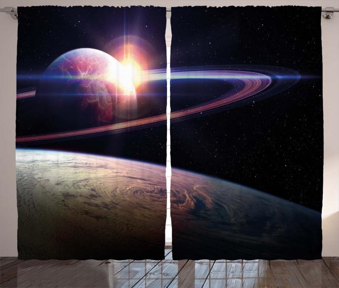 Massive Planets Cosmo Curtain