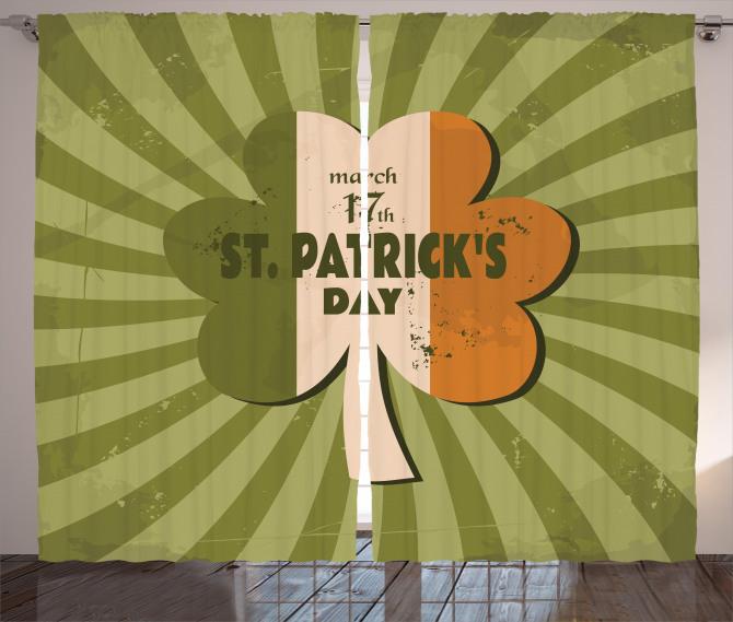 St. Patricks Day Curtain