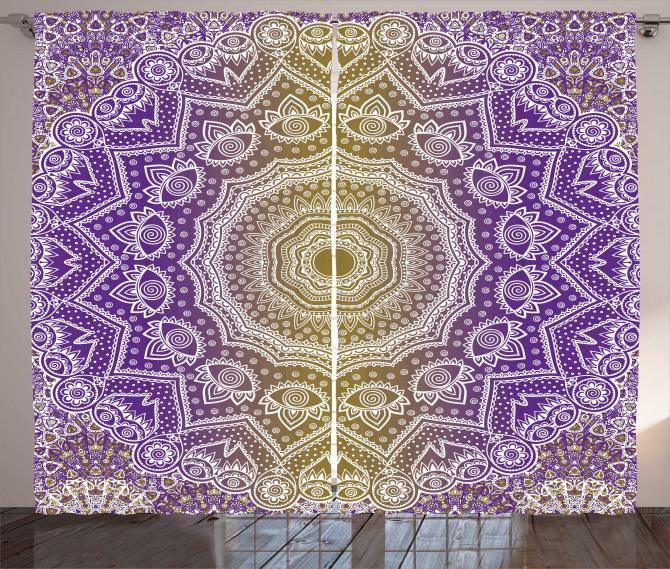 Mandala Ombre Curtain