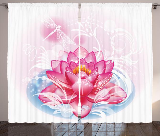 Mandala Yoga Lotus Curtain