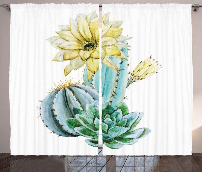 Plant Spikes Cactus Curtain