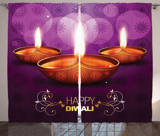 Diwali Religious Festive Curtain