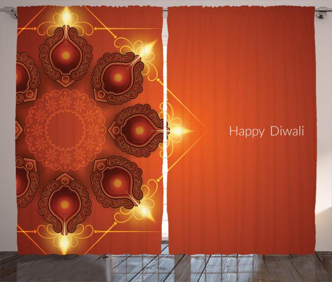 Sacred Celebration Happy Curtain