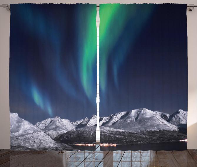 Northern Night Norway Solar Curtain