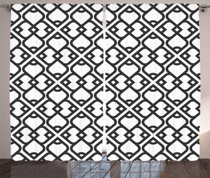 Middle Eastern Effect Curtain