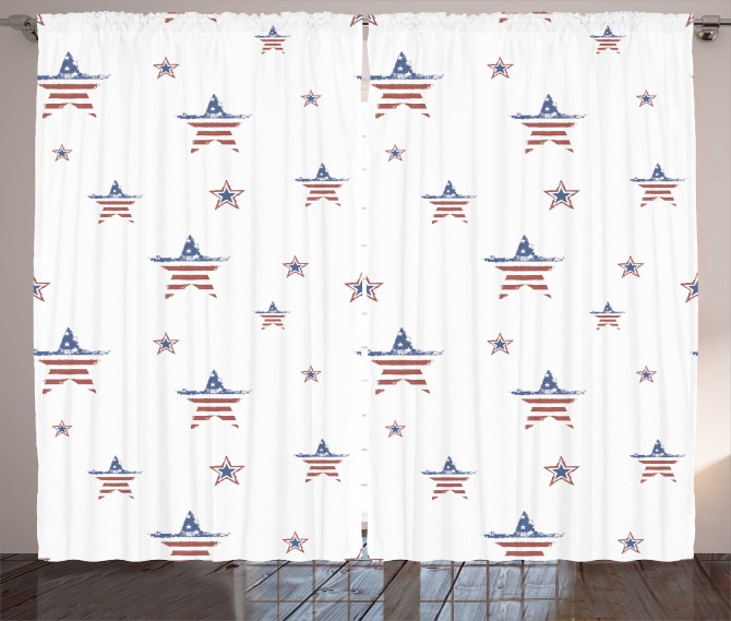 Scattered Stars Curtain