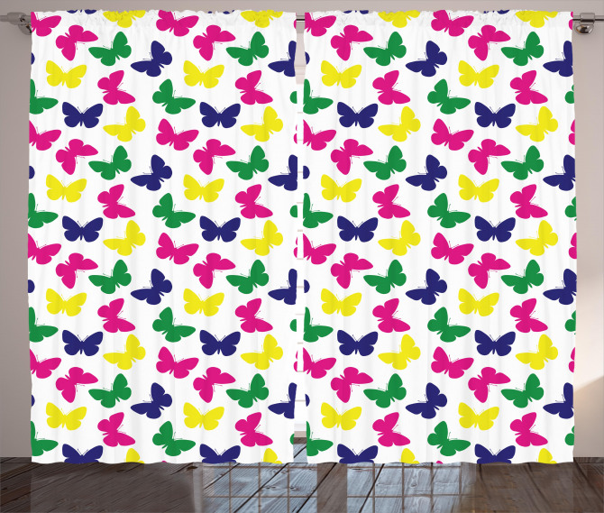 Romantic Butterfly Kids Curtain