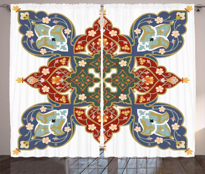 Turkish Ottoman Arabic Curtain