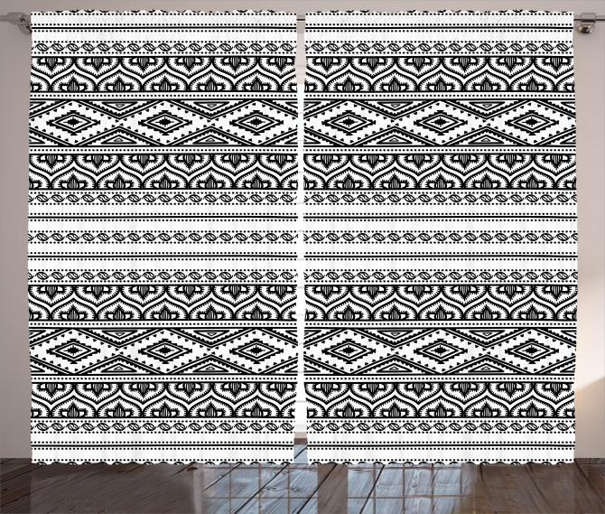 Oriental Tribal Moroccan Curtain