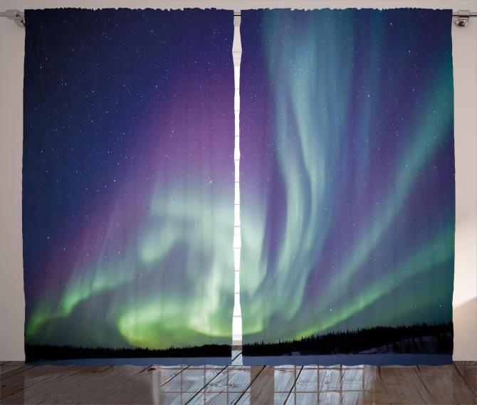 Solar Sky Stars Curtain