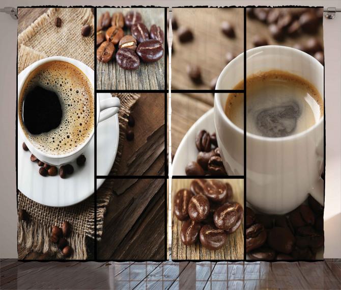1e7c20f8024 Coffee Mugs Wood Table Curtain