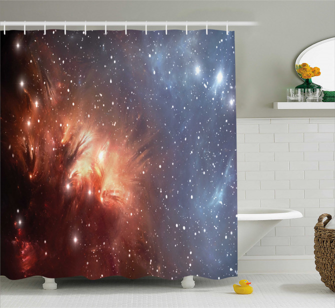 Astronomy Cosmos Space Shower Curtain