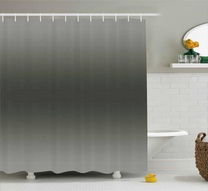 Smokey Modern Design Shower Curtain