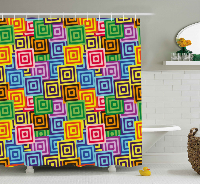 Ethnic Africa Tribal Shower Curtain