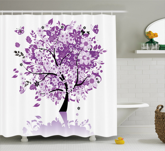 Sacred Tree Of Life Shower Curtain