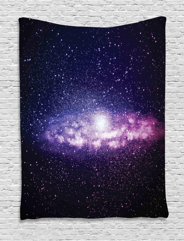 Nebula Cloud Milky Way Tapestry