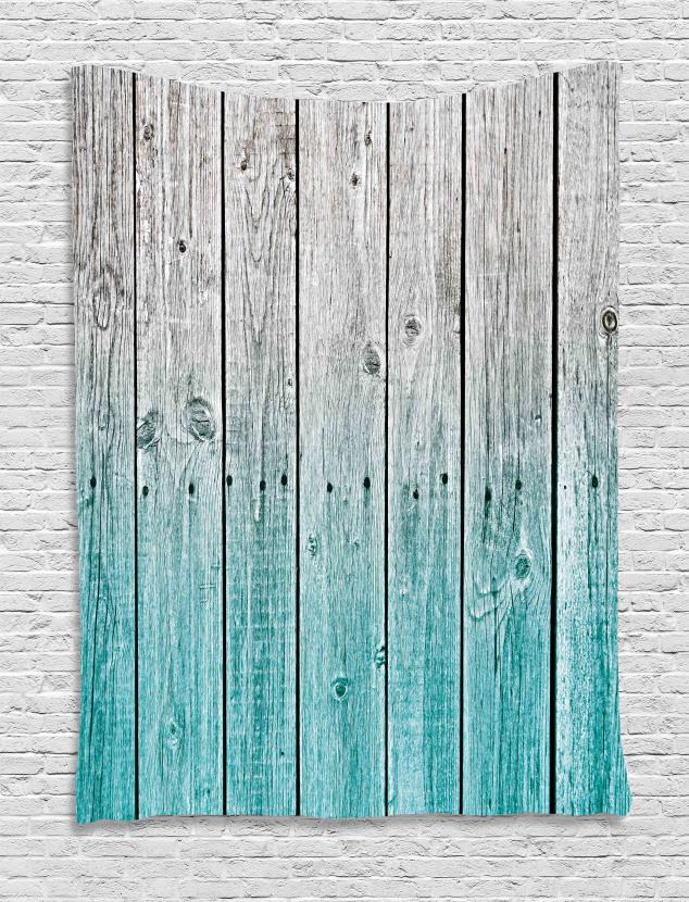 Digital Wood Panels Tapestry