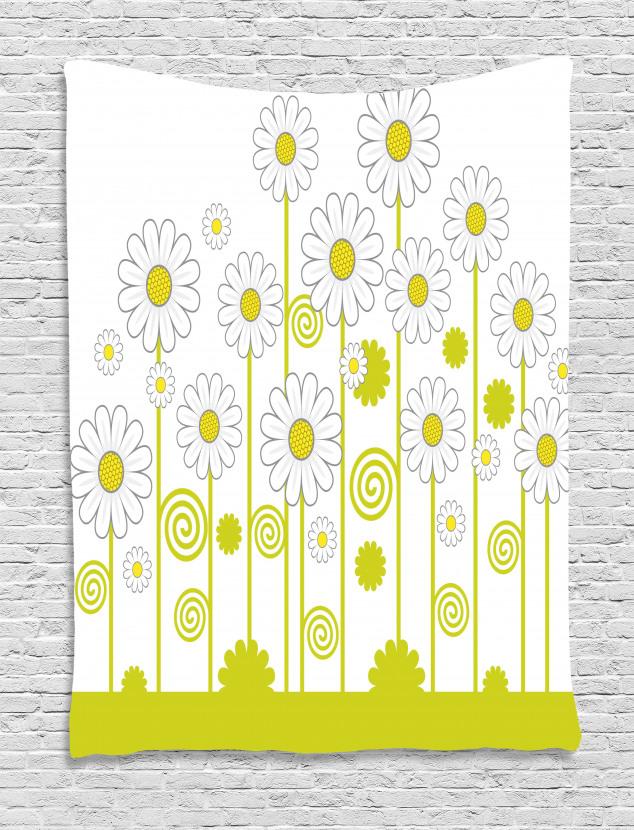 Daisises Flowers Garden Tapestry