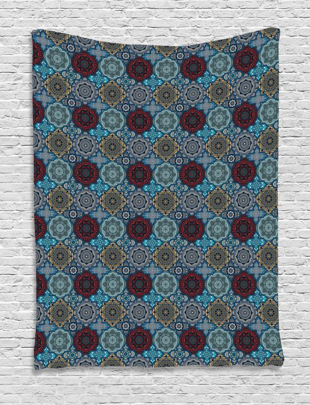 Retro Ethnic Ottoman Tapestry