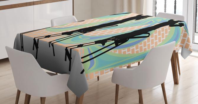 Graffiti Artist Tablecloth