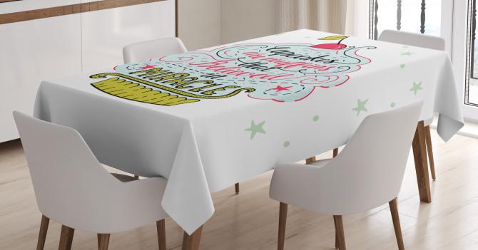 Artful Cupcake Tablecloth